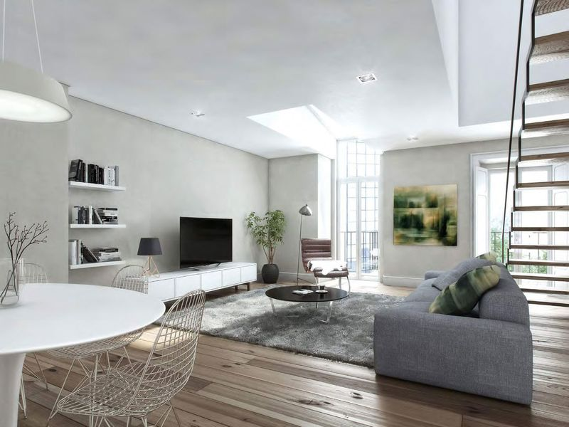 葡萄牙里斯本三房复式公寓3160