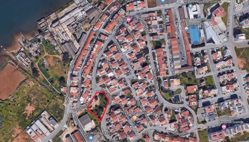 Lote de terreno com 1000m2 Mexilhoeira Carregação Estômbar Lagoa (Algarve) - viabilidade de construção, excelente vista