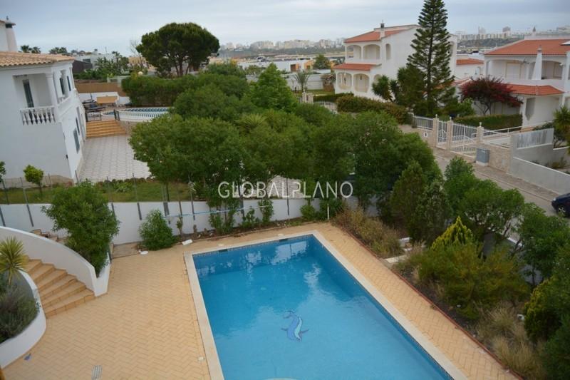 Moradia V4 Bela Vista Ferragudo Lagoa (Algarve) - jardim, terraço, piscina, garagem