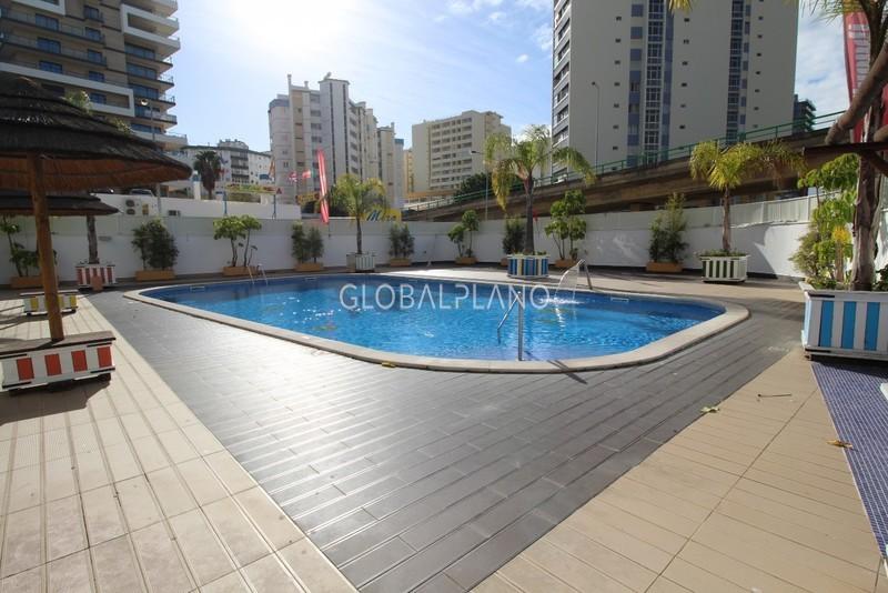 Apartamento T0 Praia da Rocha Portimão - piscina, mobilado