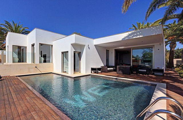Casa Moderna V4 Praia da Luz Lagos - piscina, jardim, bbq, vista mar