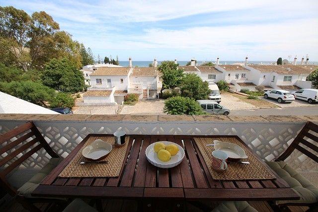 Casa V2 Praia da Luz Lagos - lareira, quintal, vista mar, ar condicionado, varanda