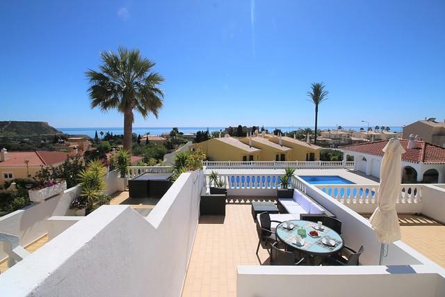 Moradia V2 bem localizada Praia da Luz Lagos - vista mar, bonita vista, bbq, varanda, piscina