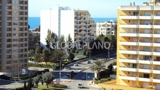 Apartamento T1 Praia da Rocha Portimão - varanda, jardins, piscina