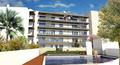 Apartamento T1 Quelfes Olhão - piscina, jardim
