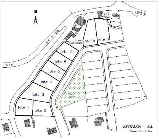 Plot of land with 679sqm Lobão Santa Maria da Feira