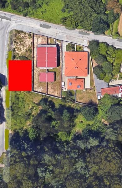 Lote de terreno com 480.20m2 Feira Santa Maria da Feira