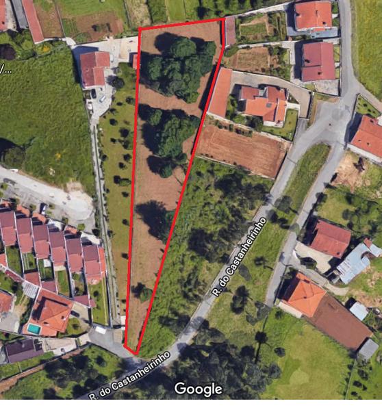 Land with 3174sqm Nogueira do Cravo Oliveira de Azeméis - construction viability