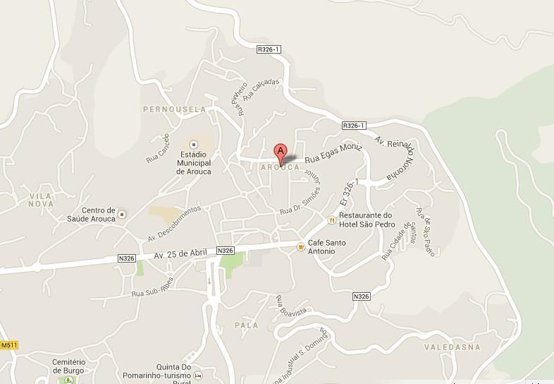 Moradia V2 bem localizada Alagoas (perto do café dos presuntos) Escariz Arouca - zona calma, garagem