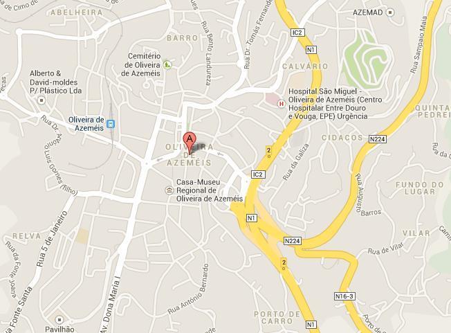 Casa Industrial com 600m2 Carregosa Oliveira de Azeméis - estacionamento