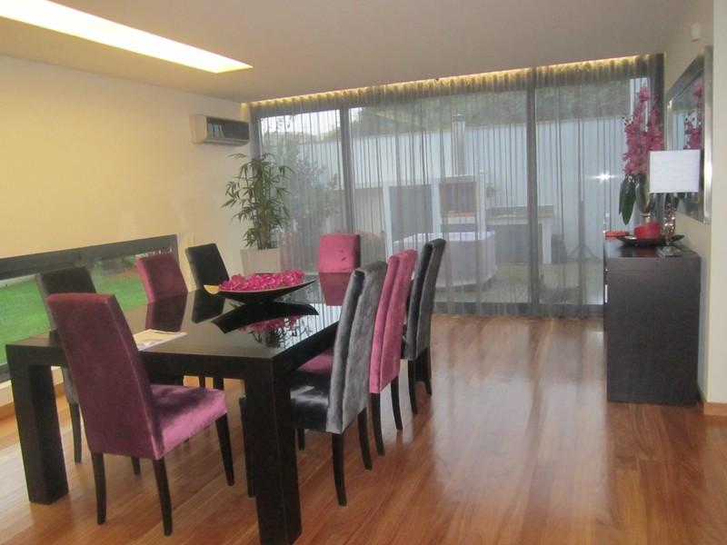 House V3 Luxury Feira Santa Maria da Feira - fireplace, air conditioning, solar heating, garden, barbecue, garage