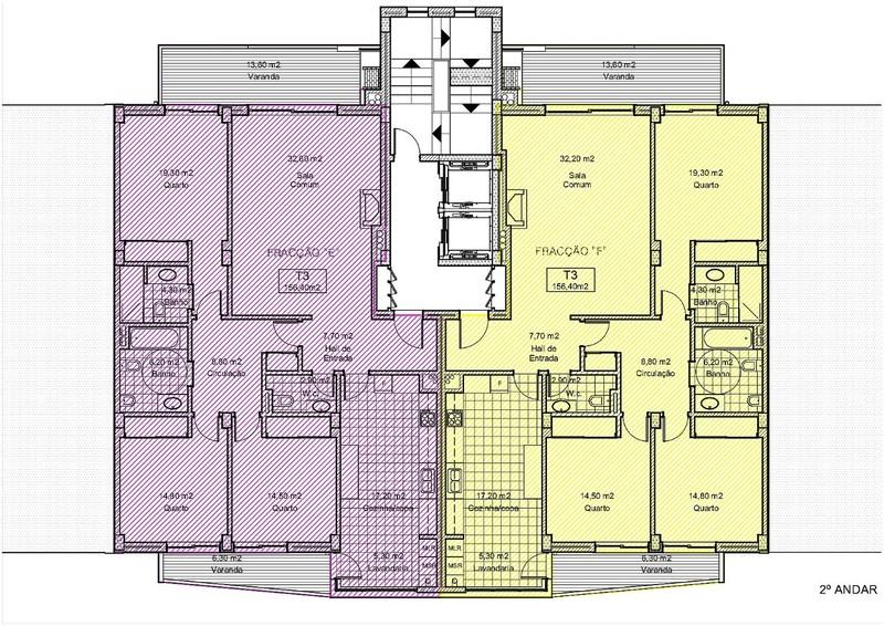 Apartamento T3 novo com boas áreas Oliveira de Azeméis