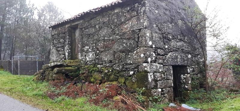 Moradia V0 para recuperar Agros Junqueira Vale de Cambra - quintal