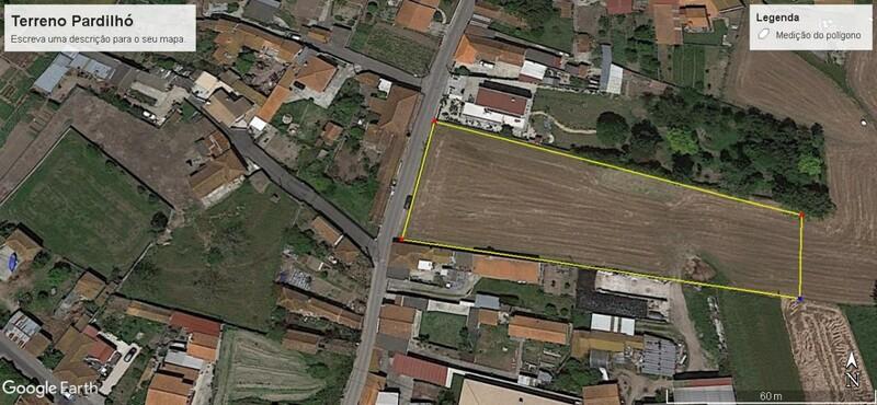 Land Rustic with 4290sqm Curval Pardilhó Estarreja