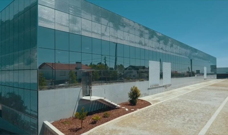 Warehouse nuevo with 2000sqm Escapães Santa Maria da Feira - spacious, parking lot