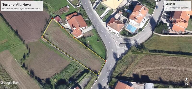 земля c 200m2 Vila Nova Romariz Santa Maria da Feira - колодец, отличный подъезд
