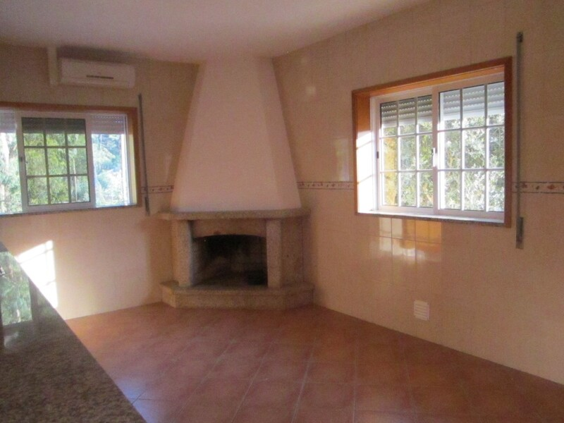 Home V3 Romariz Santa Maria da Feira - garden, fireplace, tiled stove, garage, equipped kitchen