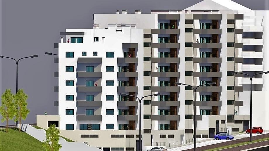 Apartamento T0+1 em construção Oliveira de Azeméis - alarme, painel solar, garagem, ar condicionado