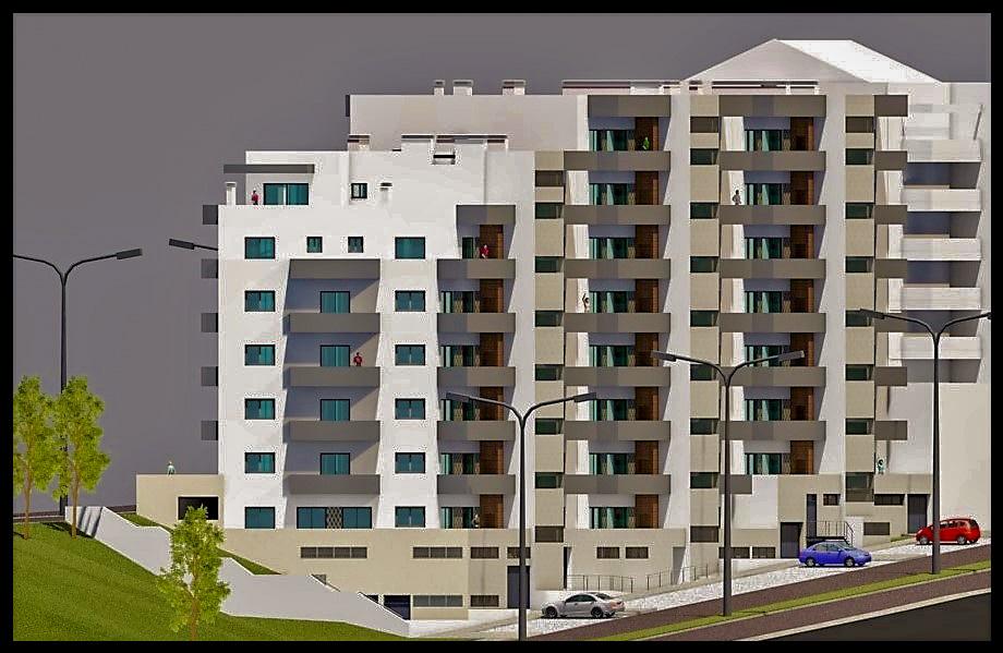 Apartment T2 under construction Oliveira de Azeméis - solar panel, alarm, garage, air conditioning