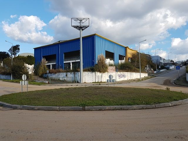 Warehouse Industrial with 1060sqm Oliveira de Azeméis - parking lot