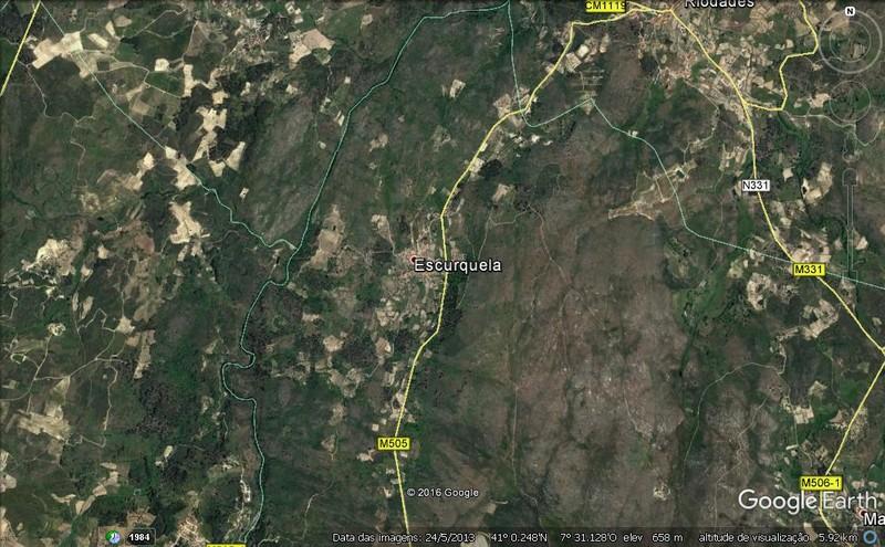 Terreno Rústico com 40400m2 Escurquela Sernancelhe