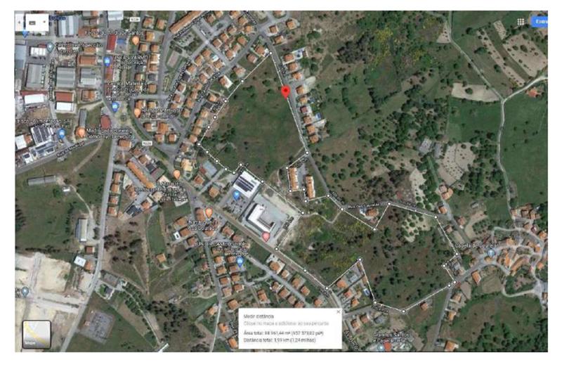 Land Rustic with 88907sqm São Pedro Trancoso - construction viability
