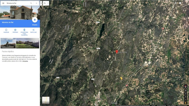 Terreno Rústico com 2400m2 Moreira de Rei Trancoso
