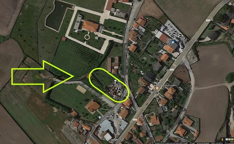 Terreno Rústico com 1598m2 Touguinhó Vila do Conde - poço