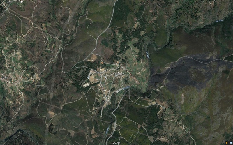 Terreno com 3580m2 Mões Castro Daire