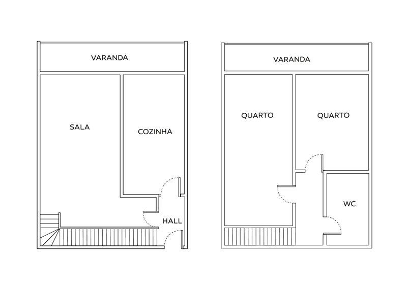 Apartment Duplex T2 Alvalade Lisboa - balcony