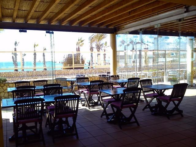 Snack bar Marina de Portimão - arrecadação, varanda, esplanada