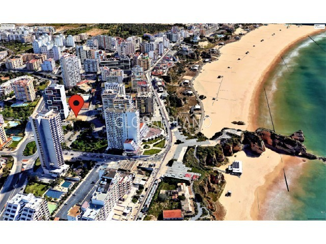 Apartamento em construção T3 Praia da Rocha Portimão - piscina, jardim, terraço, varanda