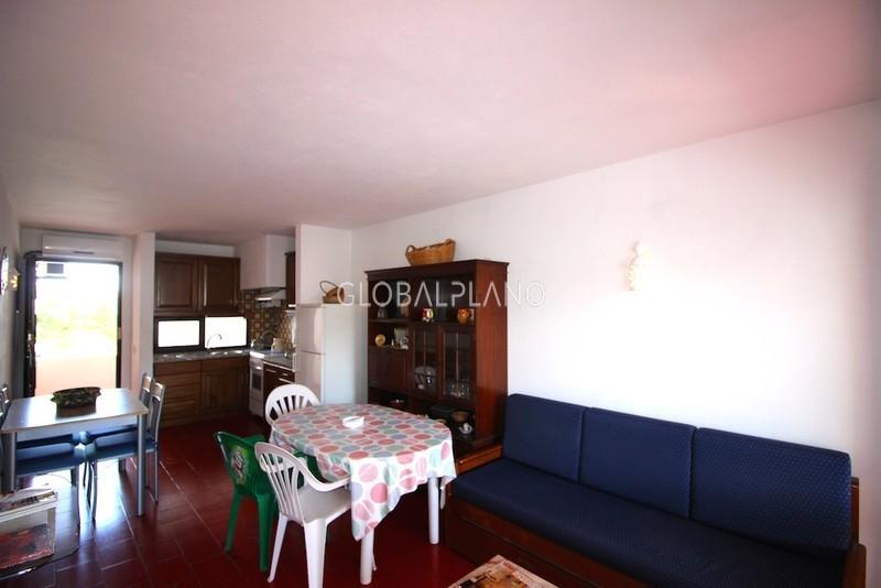 Apartamento T1 Oura Olhos de Água Albufeira - varanda, excelente localização, lareira