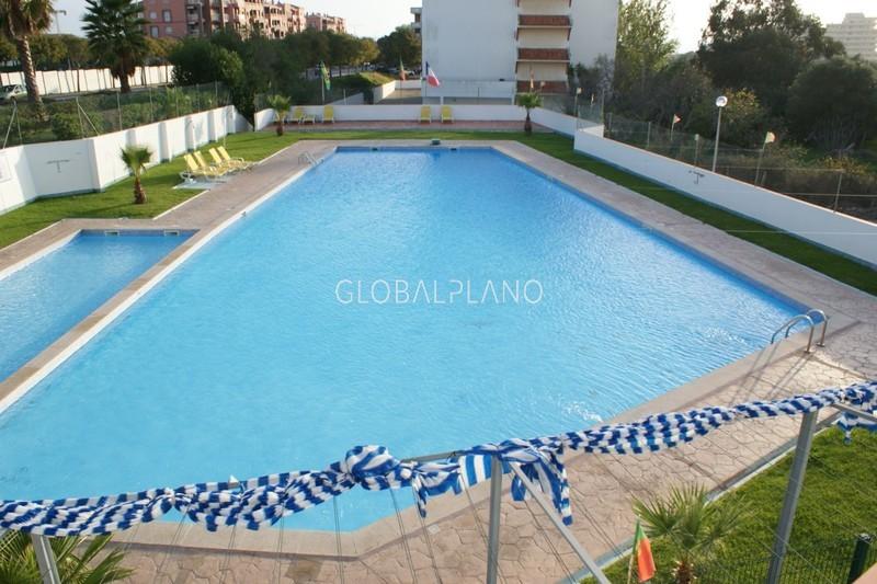 Apartamento T1 Praia do Vau Portimão - varandas, piscina, ténis