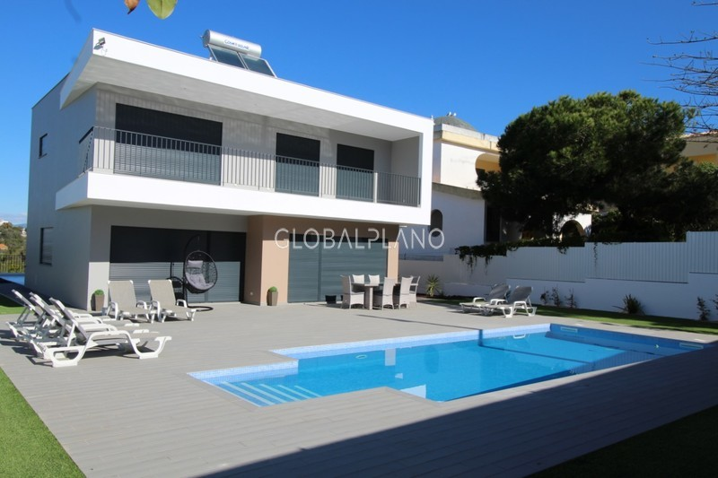 Moradia V5 Alto do Poço/Alvor Portimão - piscina, jardim, lareira, garagem