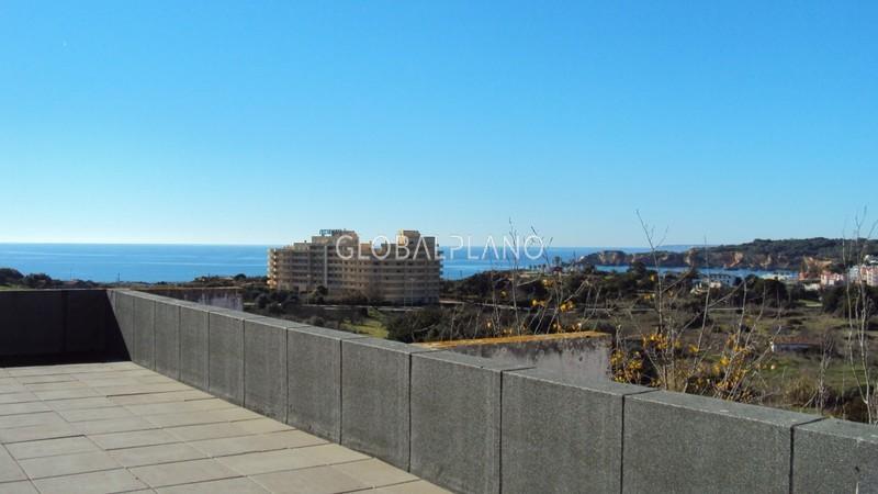 Apartamento com vista mar T1 Portimão - varanda, terraço, piscina, 5º andar, vista mar, parqueamento