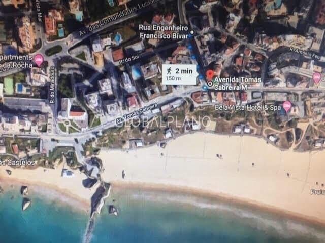 Apartamento bem localizado T2 Praia da Rocha/1ª Linha Portimão - varanda