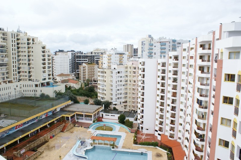 Apartamento T1 em excelente estado Praia da Rocha Portimão - varanda, piscina