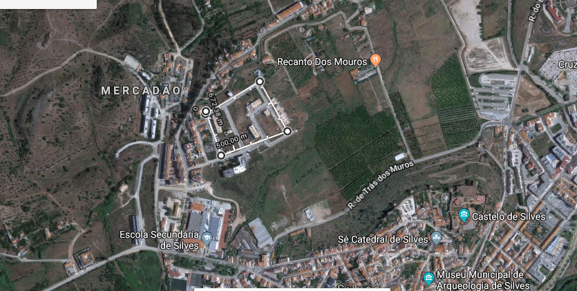 Lote com 163m2 Pêra Silves - excelente vista