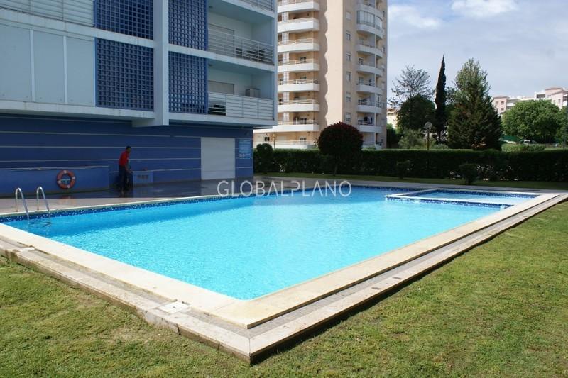 Apartamento T1 Alto do Quintão Portimão - varanda, condomínio fechado, piscina