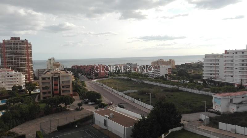 Apartment T1 Praia da Rocha Portimão - sea view, balcony, air conditioning, swimming pool, great location, kitchen