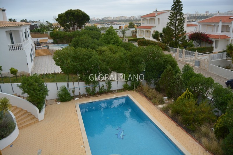 House 4 bedrooms Bela Vista Ferragudo Lagoa (Algarve) - garden, terrace, swimming pool, garage