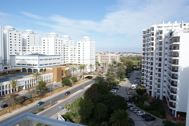 Apartamento Remodelado T0+1 Praia da Rocha Portimão - varanda, mobilado