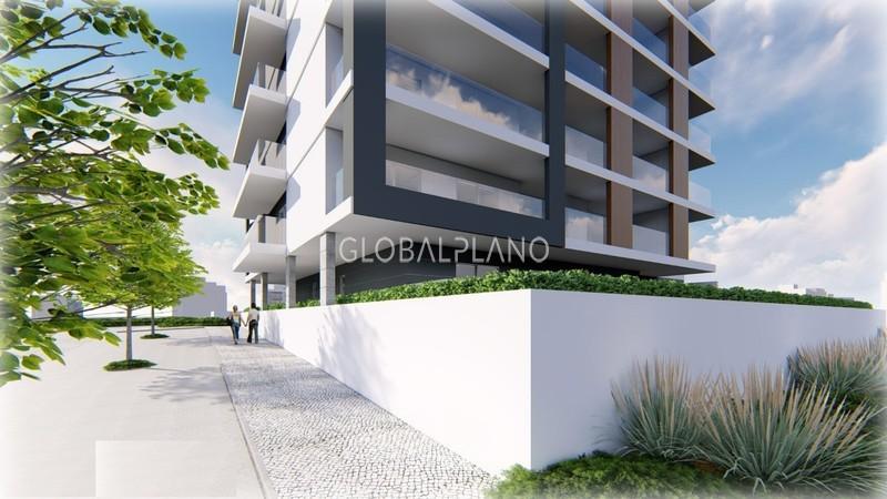 Apartamento em construção T3 Quinta do Amparo Portimão - lugar de garagem, equipado, ar condicionado