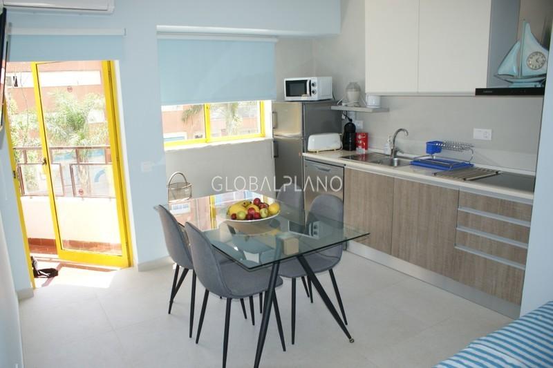 Apartamento T1+1 Praia da Rocha Portimão - equipado, piscina, mobilado, ténis