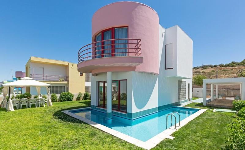 жилой дом V3 Marina de Albufeira - сад, подсобное помещение, бассейн