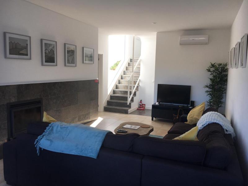 Moradia V3 Patroves Albufeira - terraços, jardim, condomínio fechado, lareira, ar condicionado