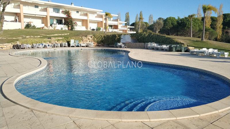 Apartment T1 Mosqueira Albufeira - balconies, swimming pool, garden, condominium, garage, balcony