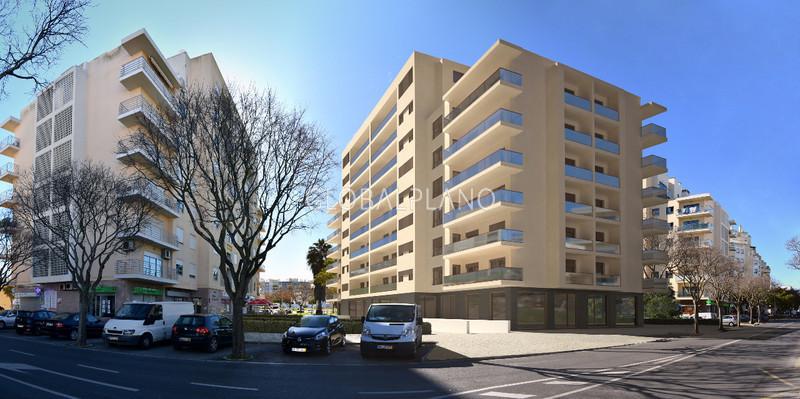 Apartamento T3 novo no centro Portimão - arrecadação, zonas verdes, parqueamento, bbq, garagem, isolamento térmico, varanda