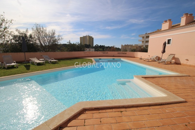 Apartment T1 Quinta dos Arcos/ Alvor Portimão - furnished, swimming pool, balcony, equipped, garage, condominium
